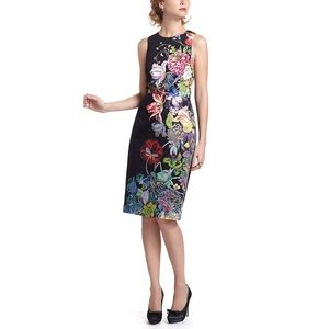 Anthro | Leifsdottir Heian Floral Sheath Dress